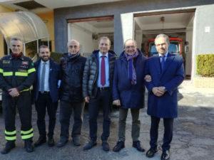 Castrovillari: lavori miglioramento Caserma Vigili Fuoco