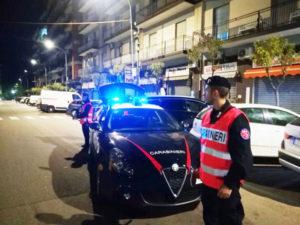 Sicurezza: servizi controllo territorio carabinieri Rende