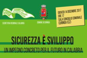 Sicurezza: un impegno concreto per il futuro in Calabria