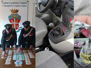 Nascondevano denaro falso, tre arresti a Corigliano Calabro