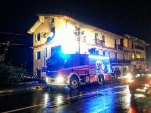 Incendi: fiamme in una abitazione a Belvedere Marittimo
