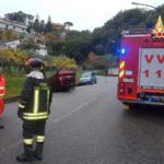 Incidenti stradali:  Fiat Panda si ribalta nel comune di Soverato