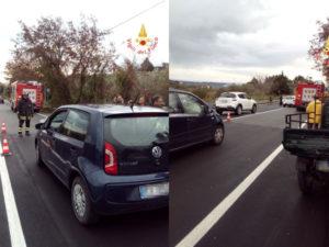 Incidenti stradali: scontro sulla Provinciale 17, un ferito