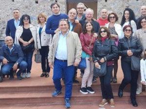 La Fidelitas visita il museo delle cere di Rocca Imperiale