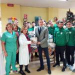 """Vigor Lamezia al reparto di Pediatria """"Giovanni Paolo II"""""""