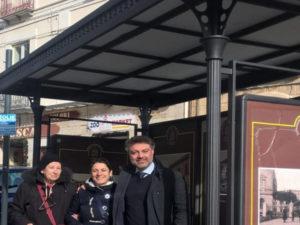 Catanzaro: Piazza Roma, reinstallata pensilina fermata autobus