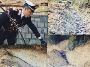 Ambiente: scarico abusivo reflui, sequestrato opificio a Roggiano