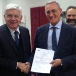 Aeroporti: consegnato alla Sacal nuovo certificato