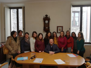 Comune Serrastretta: 8 volontarie impiegate in servizi assistenza