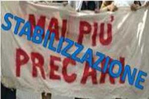 Lavoro: Sit-in precari a Reggio, stabilizzazione