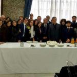 Cosenza: studenti attori Liceo Telesio ricevuti dal Sindaco