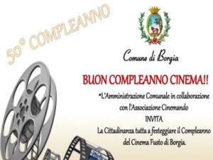 """Borgia: Continua la rassegna """"Buon compleanno cinema"""""""