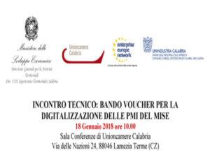 Sviluppo: Bando voucher per digitalizzazione pmi del mise