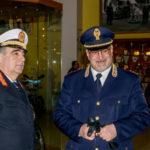 Catanzaro:comandante Polstrada visita comando polizia municipale