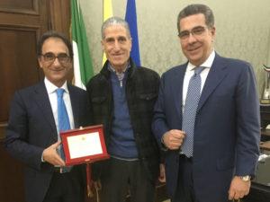 Catanzaro: premiato il podista catanzarese Antonio Iiritano