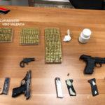 Armi: pistole nel contatore della luce, un arresto a Vibo