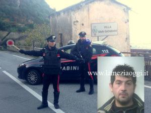 Sicurezza: controlli Carabinieri Villa, un arresto e 2 denunce