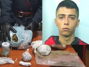 Droga: 22enne di Rosarno arrestato dai Carabinieri