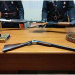 Sequestra coppia minacciandola con fucile, arresto nel Cosentino