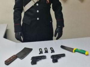 Armi: tre arresti dei Carabinieri a Reggio Calabria