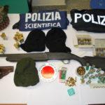 Un fucile a canne mozze e munizioni,arrestata 52enne nel Vibonese