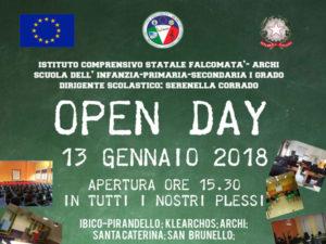"""Scuola """"Open Day"""" all'Ic Falcomatà Archi di Reggio Calabria"""