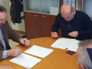 Ricerca europea: firmata convenzione Regione-Distretto Matelios