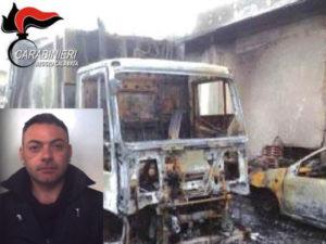 Estorsioni: incendio mezzo ditta rifiuti nel Reggino, un arresto