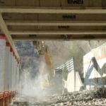 Catanzaro: iniziata demolizione galleria paramassi provinciale 40