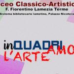 """Mostre: """"Inquadriamo l'arte"""", studenti-artisti a Lamezia Terme"""