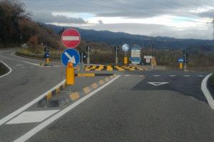 Serrastretta conclusi i lavori della rotatoria provinciale