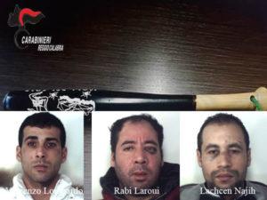 Rissa davanti ad un locale a Reggio Calabria, quattro arresti