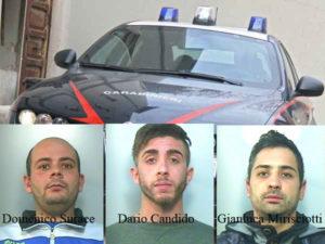 Droga: in camera letto confezionavano dosi, 3 arresti a Rosarno