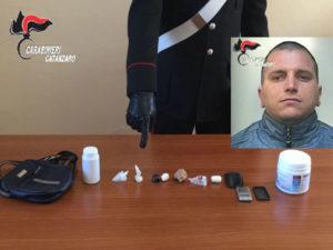 Droga: ai domiciliari  con cocaina nel bagno arrestato dai Carabinieri