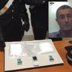 Droga: sorpreso con mezzo chilo di cocaina, arrestato ad Ardore