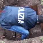'Ndrangheta: rifugio bunker scoperto nel Reggino dalla Polizia