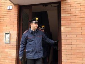 Cassaforte con fucili rubata in casa pensionato nel Vibonese