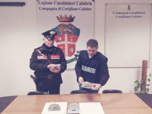 Corigliano: nasconde droga tra rifiuti, arrestato dai Cc