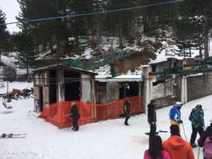 Sila: seggiovia Villaggio Palumbo chiusa per incendio