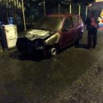 Incendi: Fiat seicento distrutta dalle fiamme a Cortale