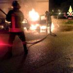 Tre auto in fiamme nel Catanzarese, indagini