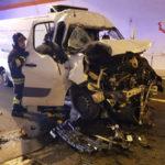 Incidenti stradali: tamponamento in galleria sulla 106, un ferito