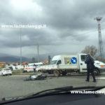Lamezia: scontro tra una moto ed un camion, un ferito
