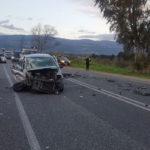 Lamezia: incidente stradale in Via del Progresso, due feriti