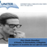 Lamezia: incontro dell'Uniter sulla morte di Pier Paolo Pasolini