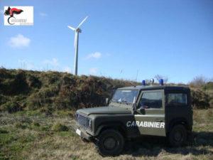Ambiente: impianto minieolico sequestrato nel Catanzarese, 4 denunce