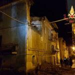 Lamezia: palazzina crolla in Via Gioberti di Sambiase