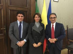Comune Catanzaro: Abramo e Polimeni ricevono il nuovo prefetto