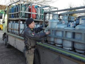 Gdf Roma sequestra oltre 45 tonnellate di Gpl, 7 denunciati
