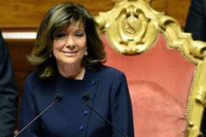 Senato: Casellati, una grande emozione. Ce la mettero' tutta